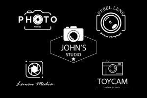 Portfolio for Design professional Photography Logo