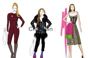 Portfolio for Fashion illustration , joystick