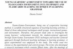 Portfolio for Translation and Education