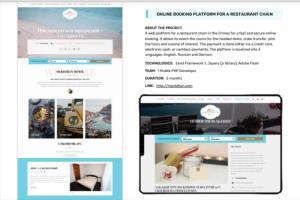 Portfolio for WEB and MOBILE DESIGN and DEVELOPMENT