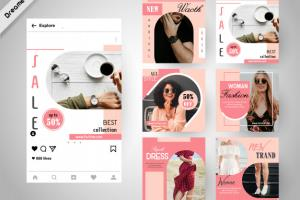 Portfolio for Social Media Kit / Brand Kit