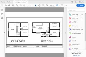 Portfolio for redraw your floor plan in autocad 2d.