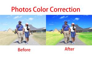 Portfolio for Photos Color Correction or Change Color