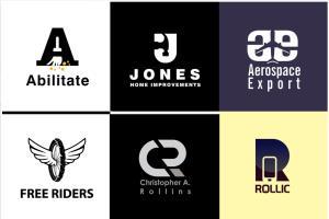 Portfolio for Creative flat Minimal brand logo design