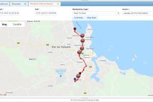 Portfolio for GPS Vehicle Tracking System Development