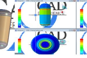 Portfolio for abaqus numerical simulation