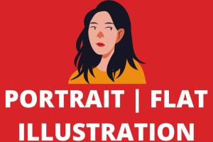 Portfolio for Cartoon | Portrait | Flat Illustration
