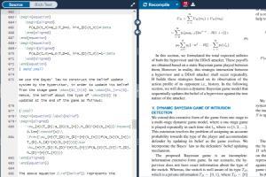 Portfolio for Typeset and Create Document in Latex