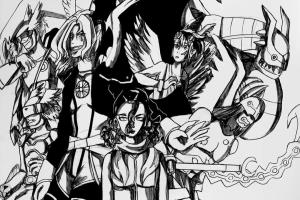 Portfolio for Manga Sketching and Inking