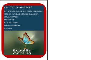 Portfolio for Accounts Managment,Process Mamagment