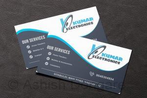 Portfolio for Business Card Designing.