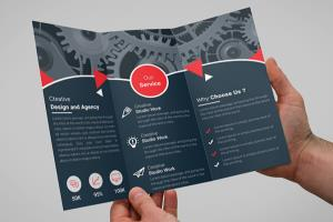 Portfolio for I Will Design Trifold Or Bifold Brochure