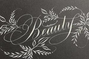 Portfolio for hand lettering