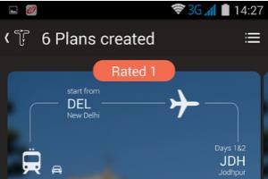 Travel and Tourism Mobile App Design.