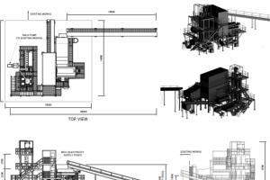 Portfolio for Structural steel detailer