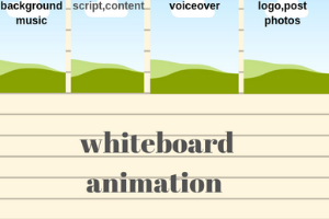 Portfolio for whiteboard animation