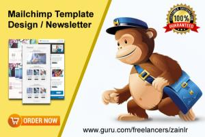 Portfolio for Mailchimp Newsletter Design