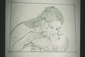 Portfolio for Drawing, Sketch, data entry
