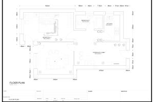 Portfolio for I will design your 2d 3d floor plan