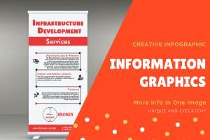 Portfolio for Infographics design for you