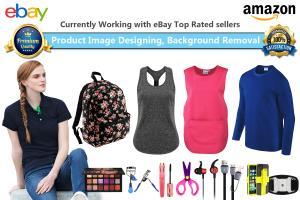 Portfolio for Photoshop Edit, Design Listing for eBay
