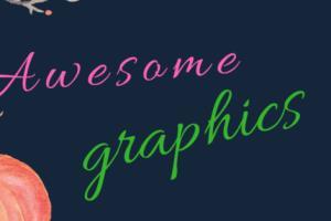 Portfolio for Awesome Graphics