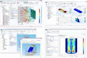 Portfolio for Simulation with FEM tool such as comsol