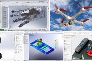 Portfolio for modelling&simulation with solidworks