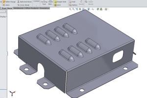Portfolio for Designing over Auto CAD, SOLIDWORKS