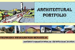 Portfolio for Architectural and Urban Planning Jobs