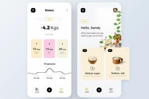 Portfolio for Web and Mobile App UI Design