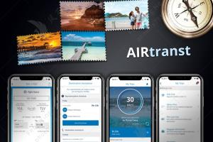 Portfolio for Travel Service App: Air Transt