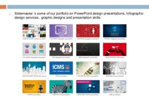 Portfolio for Design A Powerpoint Presentation