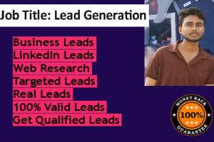 Portfolio for Lead Generation & Leads Generation