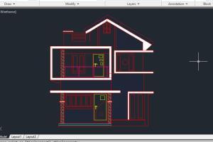 Portfolio for Working floor plans, Site plan,etc.