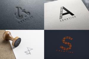 Portfolio for Logo Design: Initial/Monogram 2 Concept