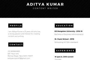Portfolio for Write a brilliant resume+cover letter.