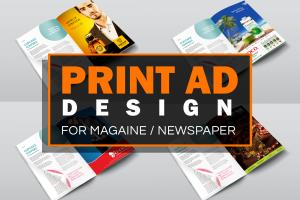 Portfolio for Print Advertising Design