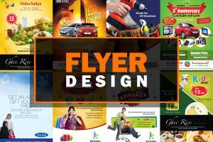 Portfolio for Creative flyer / leaflet design