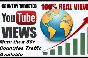 Portfolio for I will provide Targeted YouTube View