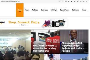 Blog News Website