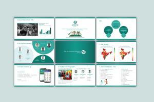 Portfolio for power-point presentation Design