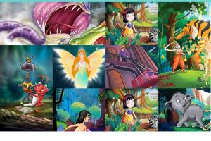 Portfolio for Character Illustration