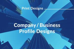 Portfolio for Company Profile Design