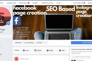 Portfolio for Facebook seo page creation and manager