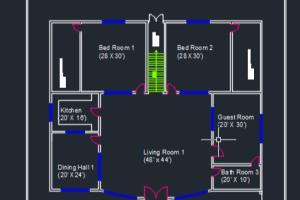 Portfolio for Autocad 2d and 3d expert & web designer
