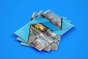 Portfolio for I will design professional brochure