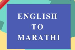 Portfolio for Translation from English to Hindi Marath