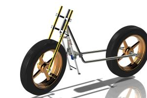 Power Stand - Two Wheeler