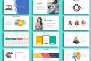 Portfolio for PowerPoint Presentation Design